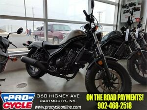 2018 HONDA REBEL 300!!