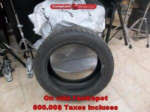 4 PNEUS HIVERS Toyo  255-50R19 268 King ouest Comptant illimite taxe Inclu.