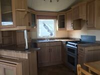 static caravan for sale in clacton, fully double glazed and central heated luxury