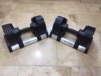 Body Power Adjustable Dumbbells ( Pair 2kg - 20kg Each )
