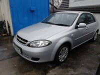 2009 Chevrolet Lacetti 1.4 SE 5 Door Hatch back MOT'd Feb 19 £895