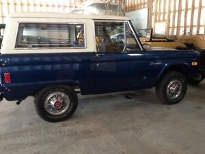 Classic well cared for 1977 Bronco