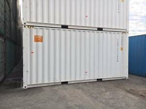 20ft High Cube New Build Shipping Containers in white (2.9m High) Tempe Marrickville Area Preview