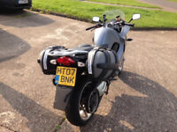 BMW F800ST FSH 11 months mot, panniers+top box ABS