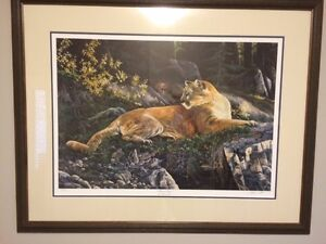Andrew Kiss- Forest Lair Signed Print