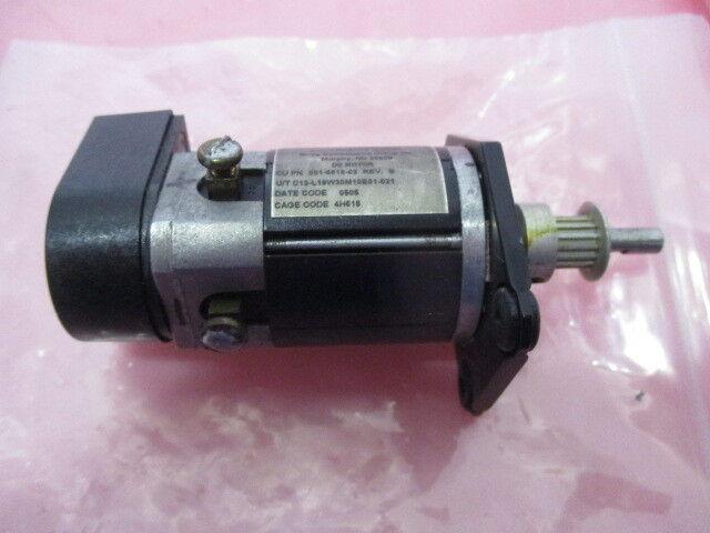 MOOG 001-6618-02, DC Motor, Gasonics 3510 Robot Assy Motor, 424430