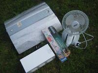 Exotic Fruit/Veg Grow Kit - Reflector, 2 x 400W bulbs, Ballast, Fan + box of extra stuff [£70 ONO]