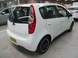 2007 Mitsubishi Colt RG MY07 ES White 5 Speed Manual Hatchback Maryville Newcastle Area Preview