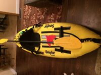 Kayak-full size-one person- perfect for camping!