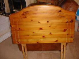 single bed pine head board