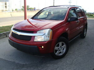 2005 CHEV EQUINOX LT CROSSOVER 120000 KMS AUTO''TAX INCLUDED''