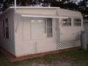 ON SITE HOLIDAY CARAVAN & ALUMINIUM ANNEX FOR 6 MONTHS LEASE Halekulani Wyong Area Preview
