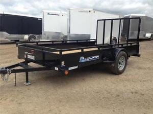 2017 Load Trail Single Axle Solid Side Utility SS Model!! London Ontario image 4