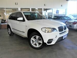 2010 BMW X5 E70 MY09 xDrive 30d Executive White 6 Speed Auto Steptronic Wagon St James Victoria Park Area Preview
