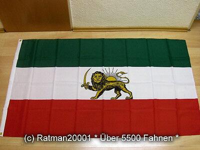 Fahnen Flagge Iran Royal Neu - 90 x 150 cm