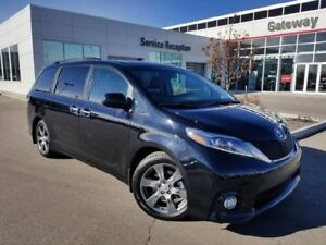 2017 Toyota Sienna 5DR SE 8-PASS FWD Leather Heated Seats, Backu