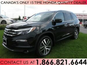 2016 Honda Pilot TOURING   HITCH   ALL WEATHER MATS   1 OWNER