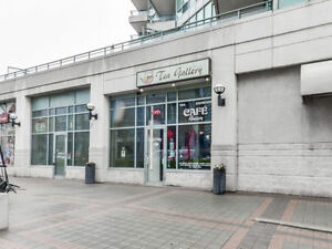 COMMERCIAL RETAIL UNIT FOR SALE RIGHT ON THE LAKE IN TORONTO!