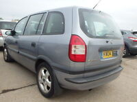 Vauxhall Zafira N/S Rear Light Breaking For Parts (2003)