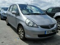 HONDA JAZZ 2008 BREAKING FOR SPARES TEL 07814971951 HAVE FEW IN STOCK PLEASE CALL