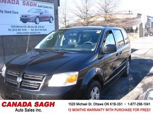 2010 Dodge Grand Caravan 99km SPACIOUS MiniVan , 12M.WRTY+SAFETY