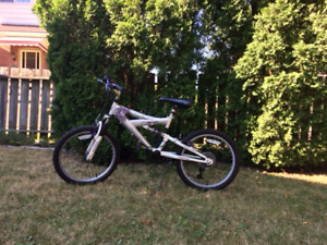"""Girl's 20"""" 5-speed bike (ages 6-10 years)"""