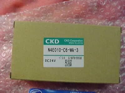 Ckd Corp. Solenoid Valve N4ne010-c6-wa-3 Dc24v Disco Lnmv-010016-00 Nos