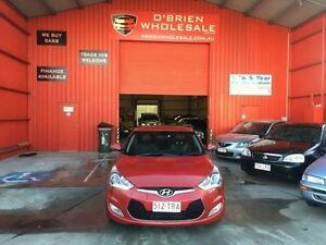 2011 Hyundai Veloster Red Manual Hatchback Clontarf Redcliffe Area Preview