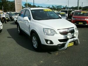 2011 Holden Captiva CG Series II Tu 5 White 5 Speed Semi Auto Wagon Coffs Harbour Coffs Harbour City Preview