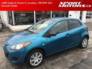 2011 Mazda2! New Brakes! Power Options! Rust Proofed!
