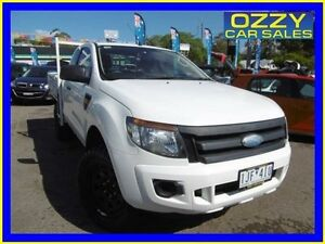 2012 Ford Ranger PX XL 3.2 (4x4) Cool White 6 Speed Manual Super Cab Chassis Penrith Penrith Area Preview