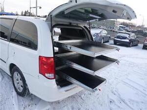 Custom Built 2011 Dodge Grand Caravan C/V Shelving Work Van