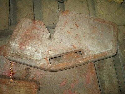 Massey Ferguson Front Suitcase Weight