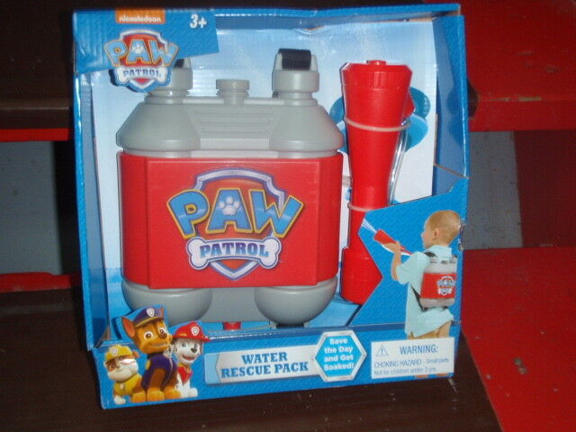 paw patrol water rescue pack brand new