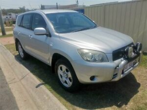 2007 Toyota RAV4 ACA33R CV Silver 5 Speed Manual Wagon Underwood Logan Area Preview