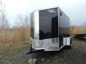 Remorque Fermée 6X10 Enclosed Trailer