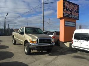 2000 Ford Super Duty F-250**5.4L V8 ***4X4**8' LONG BOX**AS IS