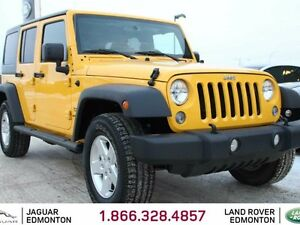 2015 Jeep Wrangler Unlimited Sport - LOCAL ONE OWNER TRADE IN |
