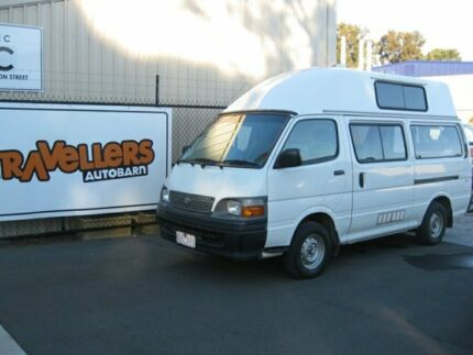 Toyota Hiace Hitop Campervan, Ex Rental - Perfect for the Roadtrip!