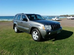 2007 Jeep Grand Cherokee WH Laredo (4x4) Grey 5 Speed Automatic Wagon Fairy Meadow Wollongong Area Preview