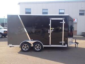 New 2016 ATTX 7' x 14' UTV Aluminum Enclosed Trailer