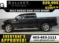 2012 DODGE RAM SPORT CREW *EVERYONE APPROVED* $0 DOWN $199/BW!
