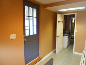 Big Bright Beautiful Basement Apt. with Extra Space 1200 SF