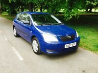 TOYOTA COROLLA 1.4 T2 VVT-I 3DR Manual (blue) 2002
