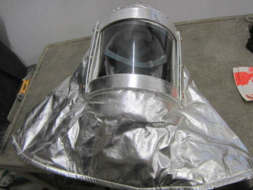 GLOBE USA Aluminized Heat Proximity Firefighter Hood Helmet Mask