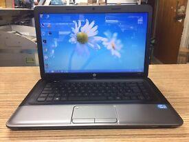 Windows 7, Ms Office Pro, HP 250, 2X 2.4GHz,500GB, 4GB Ram Wi-Fi WebCam 15.6 INCH HD screen