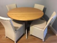 Dining Table and Chairs (M & S Padstow range)