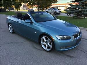 2008 BMW 3-Series CONVERTIBLE*NAV*PADDLE*SPORT*LUXY PKG*NO ACCID