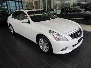 2013 Infiniti G37x Luxury Accident Free, Low Kilometers