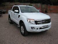 2012 12 Ford Ranger 2.2TDCi (150PS) (EU5) 4x4 XLT Gleaming white